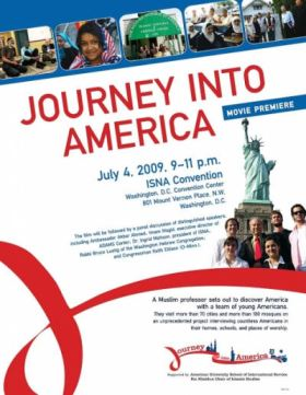 "ISNA convention launch of Akbar Ahmed's ""Journey into America"""